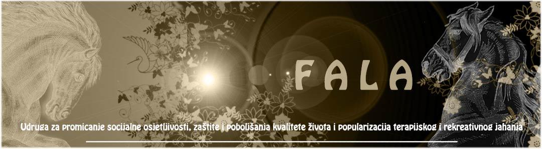 FALA Zagreb Udruga za promicanje socijalne osjetljivosti, zaštite i poboljšanja kvalitete života i popularizacija terapijskog i rekreativnog jahanja