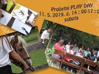 Proljetni Playday zbog vremenskih uvjeta u novom terminu, 11.05.2019. godine od 14.00 do 17.00h